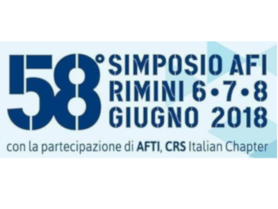58TH AFI SYMPOSIUM IN RIMINI